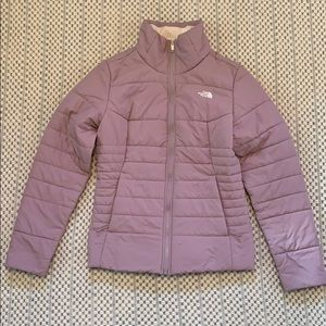 The North Face lightweight winter jacket size M